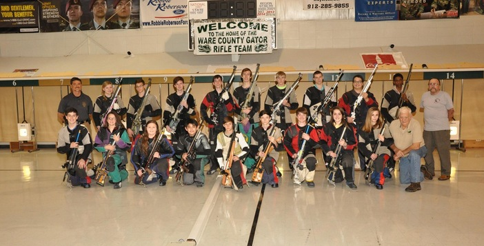Ware Rifle Team to Host Savannah High Today