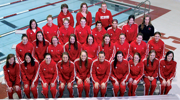 2008-09 Wittenberg Women's Swimming and Diving