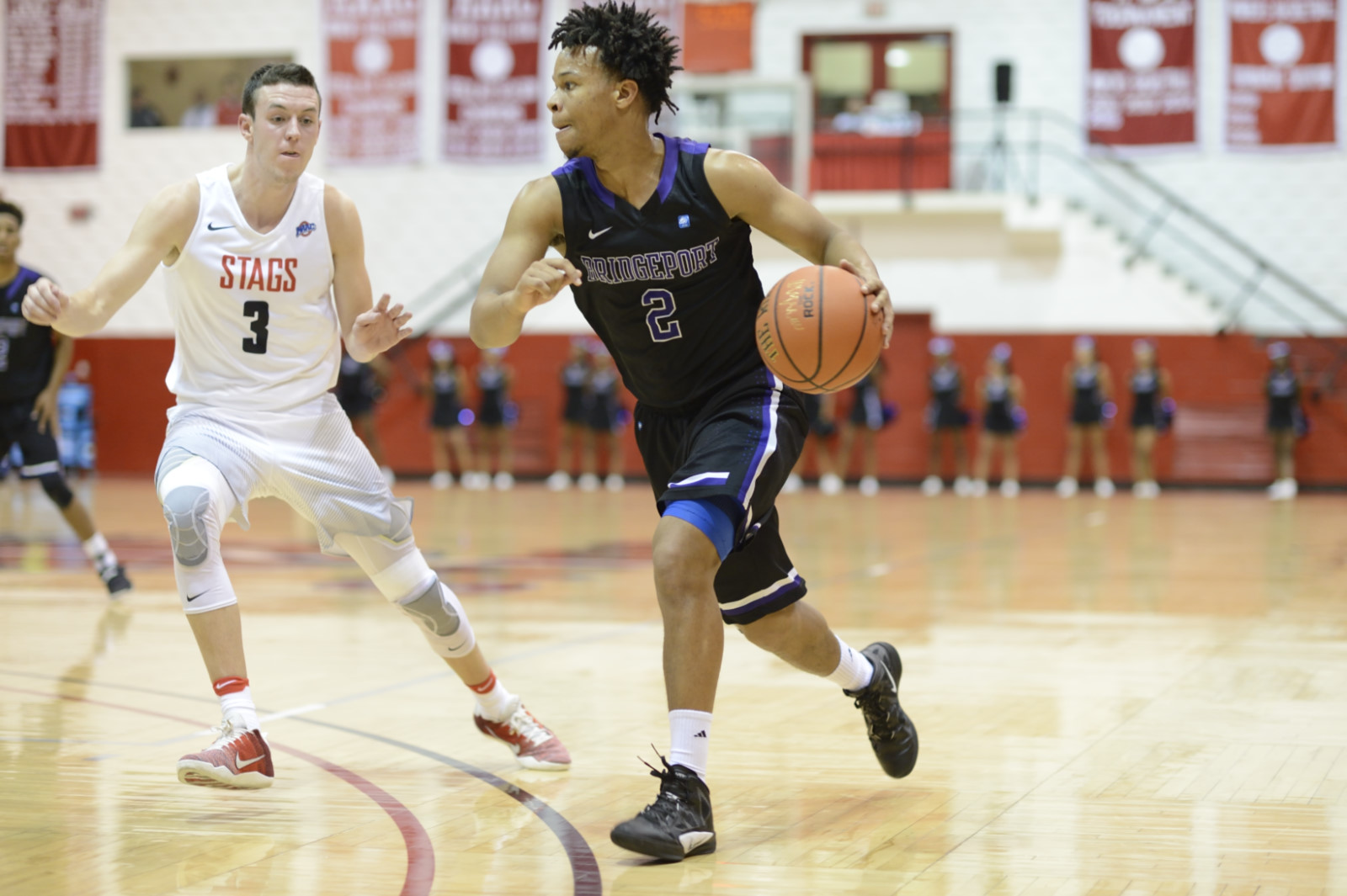 Five Purple Knights Reach Double-Digit Scoring But UB Men Stopped By Molloy In ECC Championship Semifinals