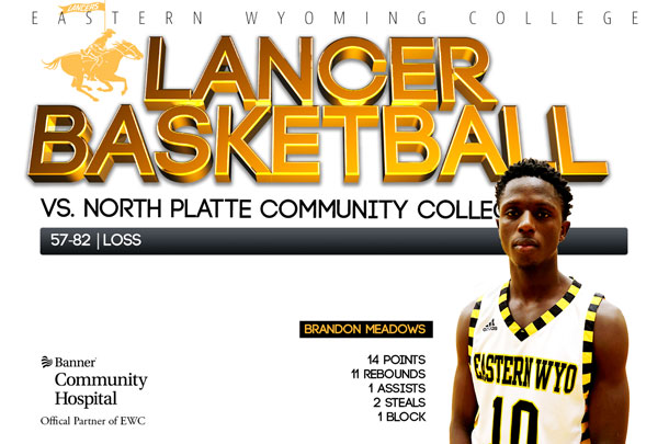 Eastern Wyoming College Lancer Basketball vs. North Platte Community College Basketball