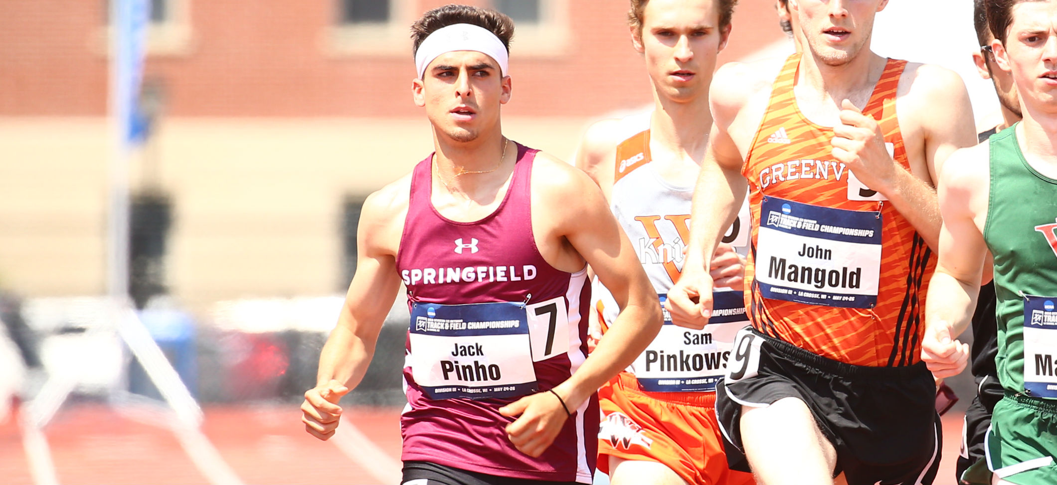 Pinho Competes in 1500 Meter Prelims at NCAA Division III Outdoor Track and Field National Championships