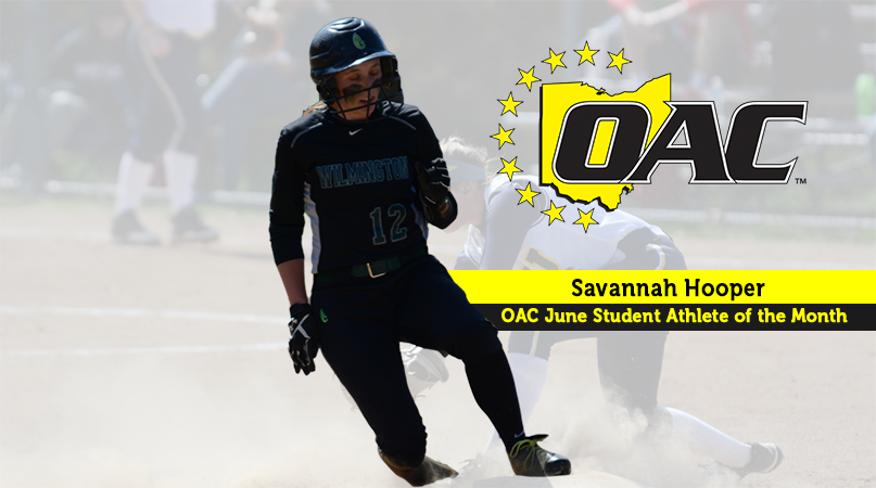 Hooper named OAC Student-Athlete of the Month