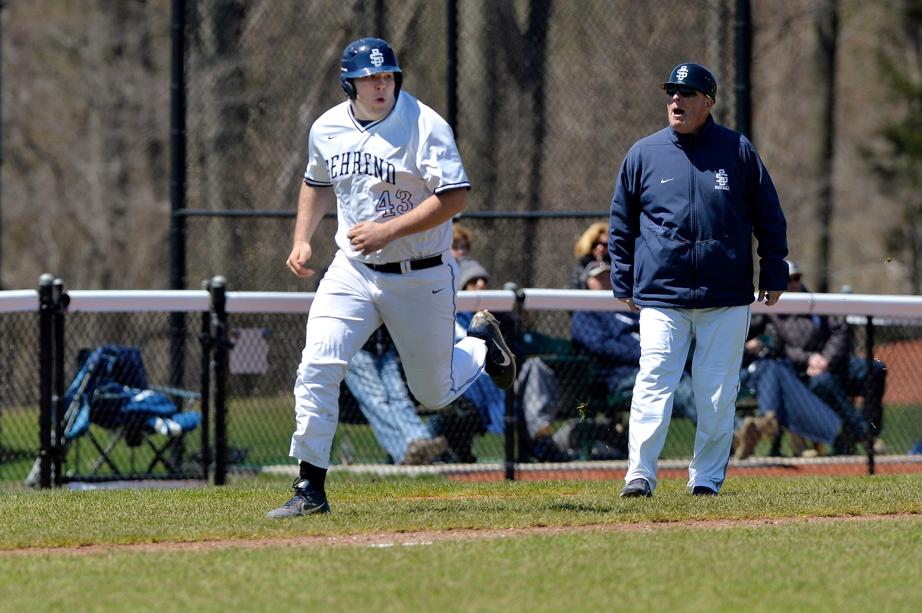 Baseball Advances to AMCC Semifinals With Sweep Over Hilbert