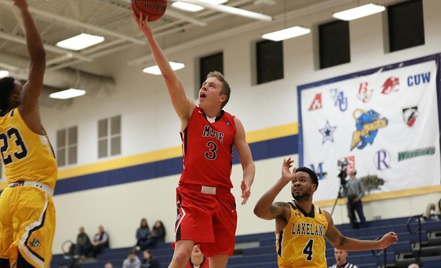 Men's Basketball Falls Short in NACC First Round
