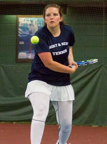 Emory & Henry Women's Tennis Shuts Out Ferrum, 9-0, in Non Conference Match on Saturday