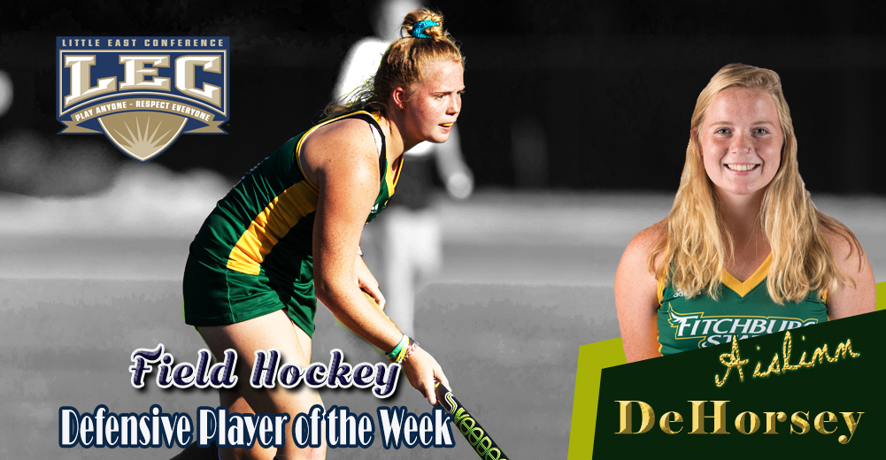 DeHorsey Tabbed LEC Field Hockey Defensive Player Of The Week