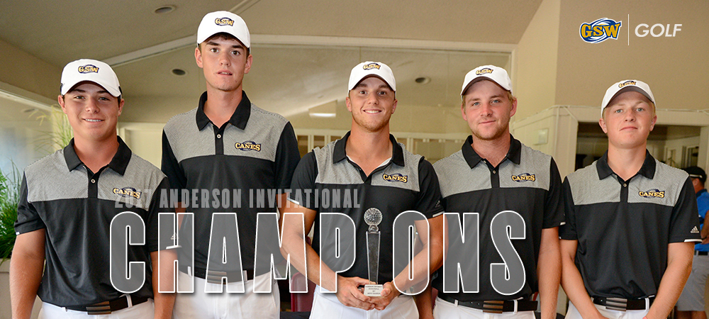 GSW Golf Opens Fall Season With Anderson U. Invitational Title