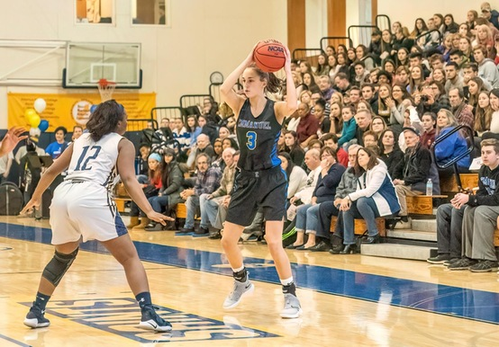 STRONG DEFENSE FUELS WOMEN'S BASKETBALL PAST NORWICH, 73-43