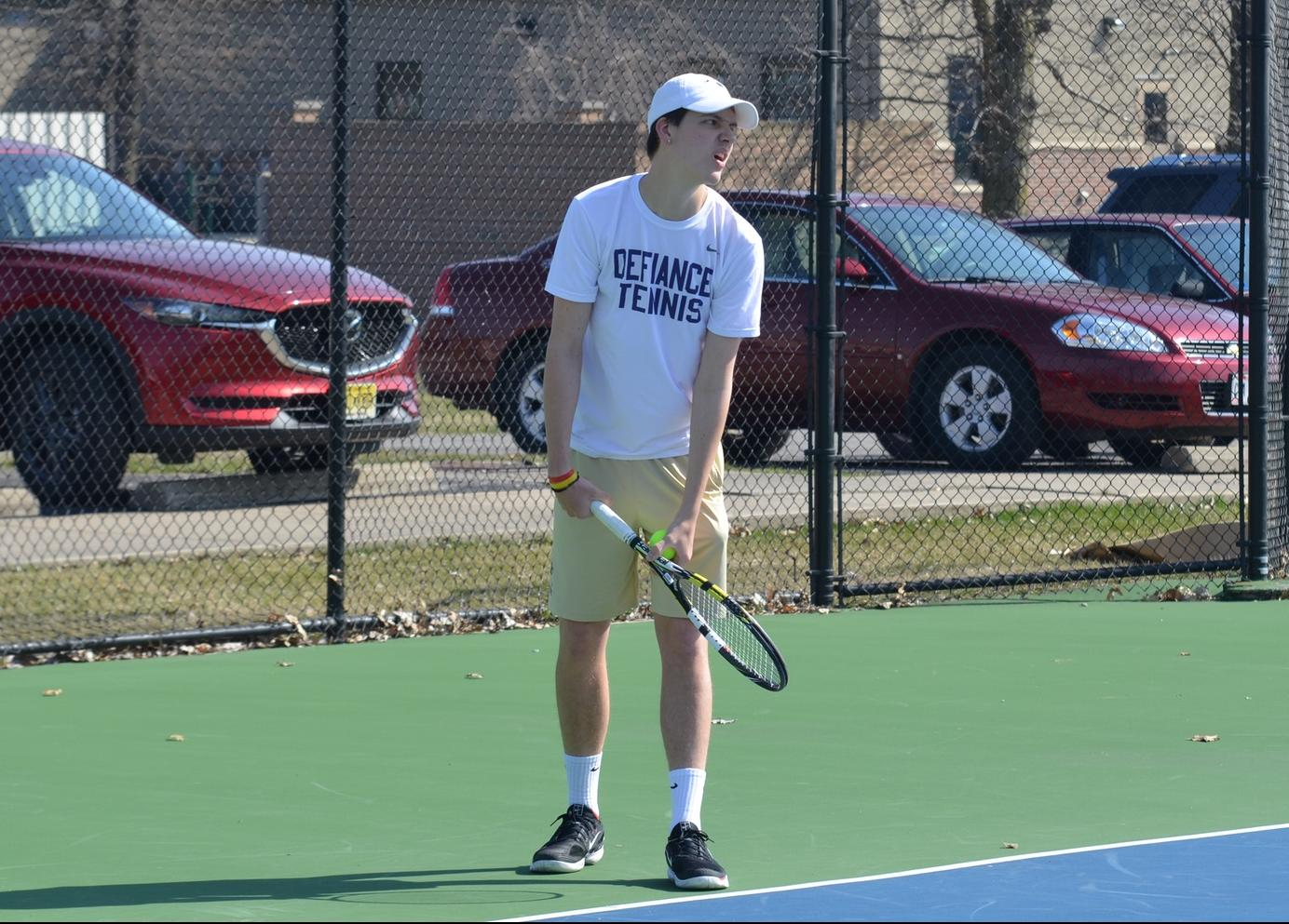 Men's Tennis Heads South for HCAC Battle