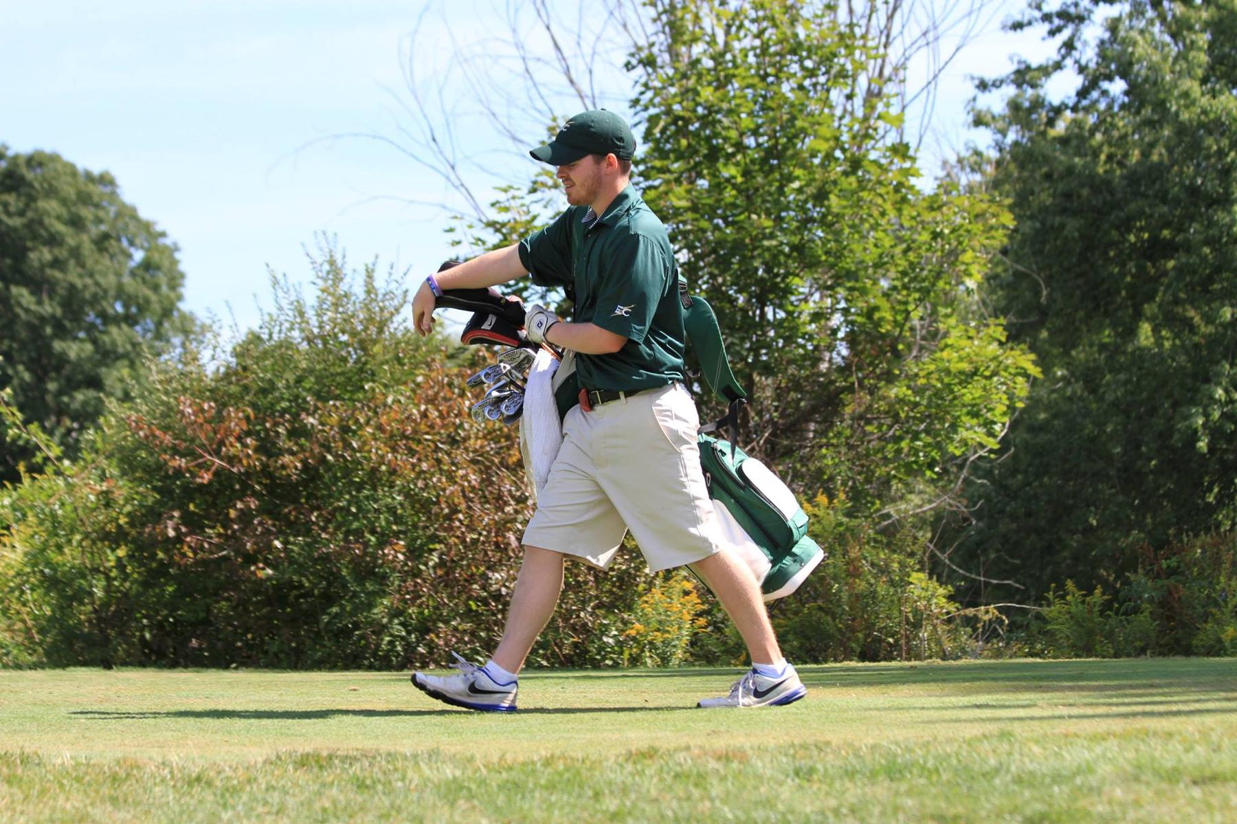 Men's Golf 12th After 18 Holes At JWU Invitational