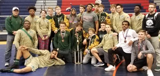 Gators Capture 2nd in Sweet Onion Memorial Wrestling Tournament