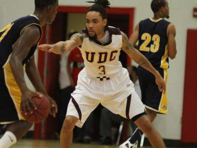 of the District of Columbia Men's Basketball Defeats Flagler College