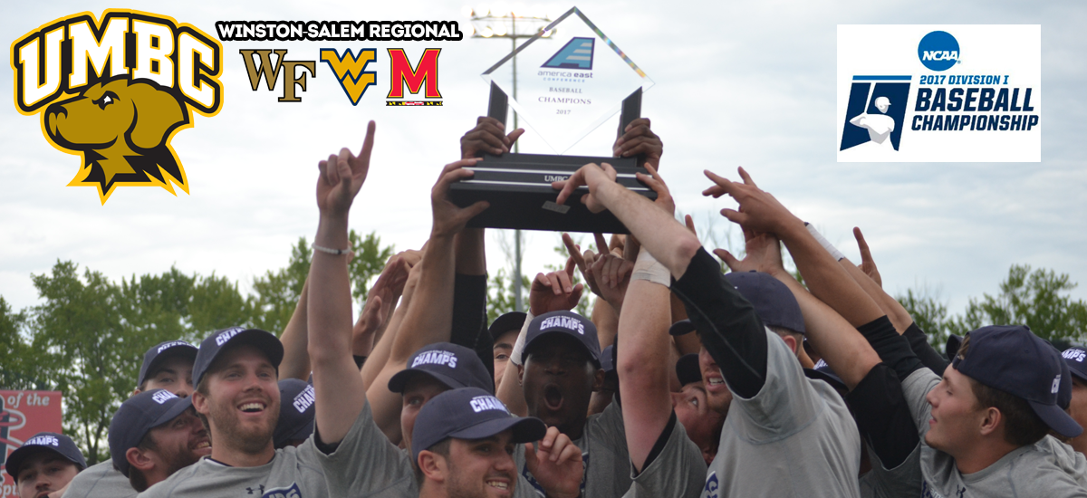 America East Champion UMBC Baseball Selected to Play in Winston-Salem Regional