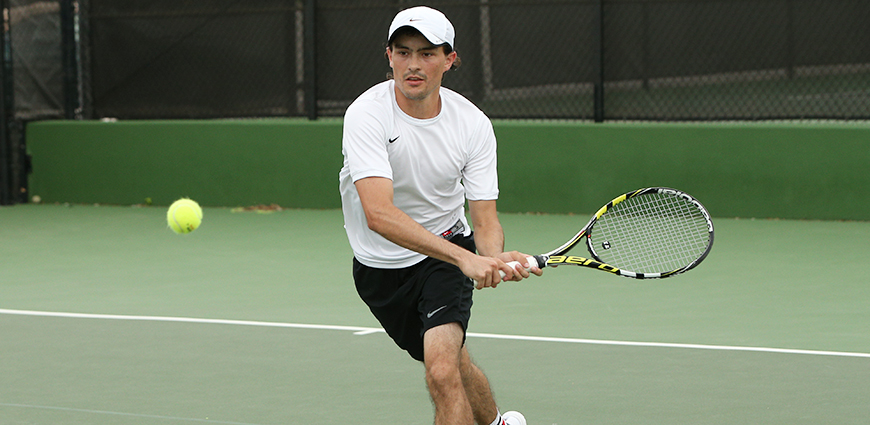 Men's Tennis Team Ends Title Hopes In ASC Semi-Finals