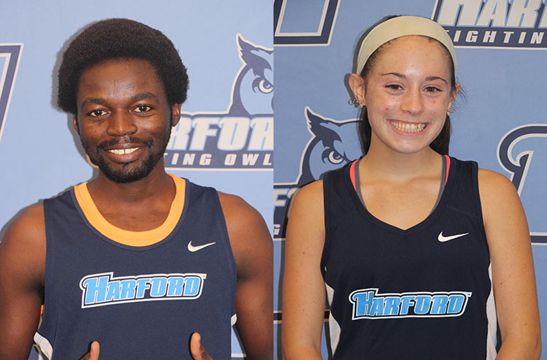 Eissa, McCarthy Named Conference Cross Country Student Athletes of the Month