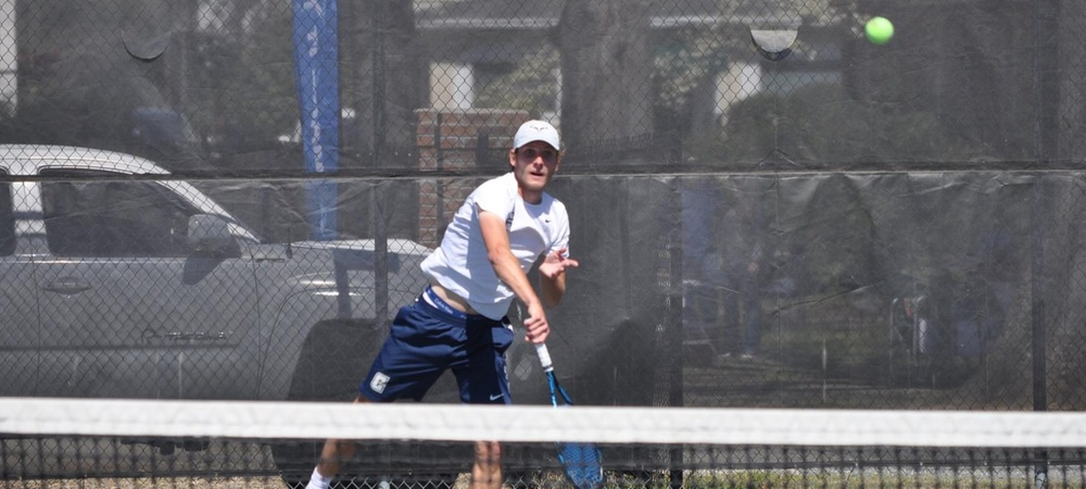 Coker Men's Tennis Drops Tight Contest to Anderson