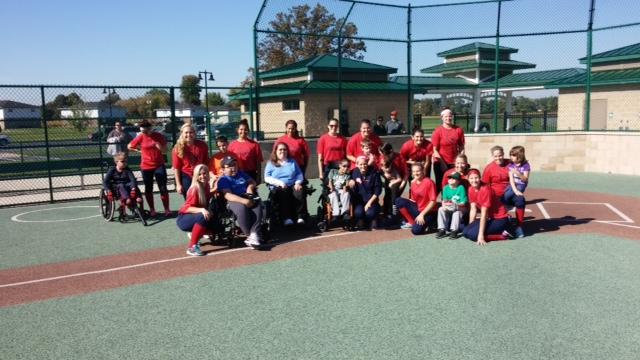 SVSU Softball Team Helping Great Lakes Bay Miracle League