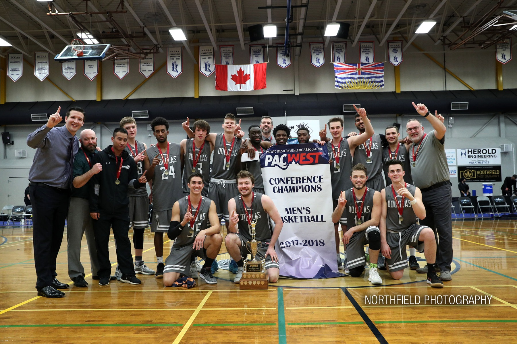 Men's Basketball wins first Provincial title in 10 years