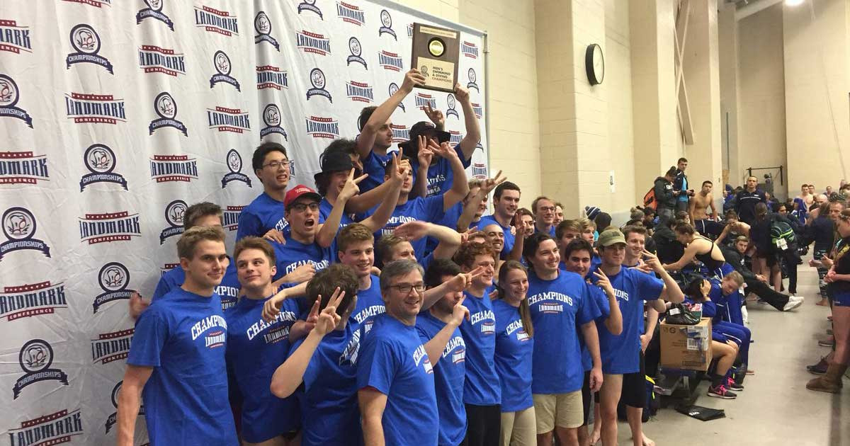 Cardinals Win Second Straight Landmark Title, McCarthy selected Rookie & Swimmer of the Year