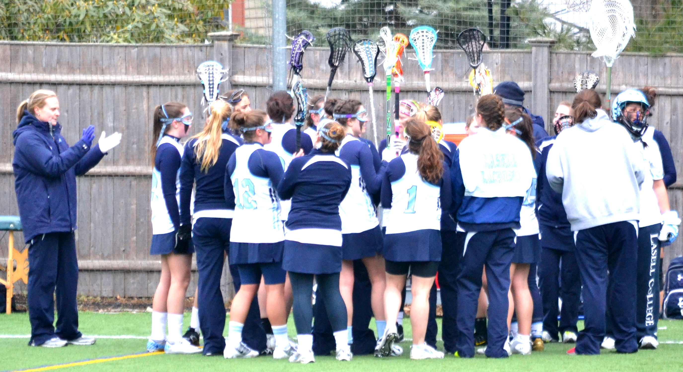 Women's Lacrosse Complete Perfect GNAC Season with Victory over St. Joseph's Conn.