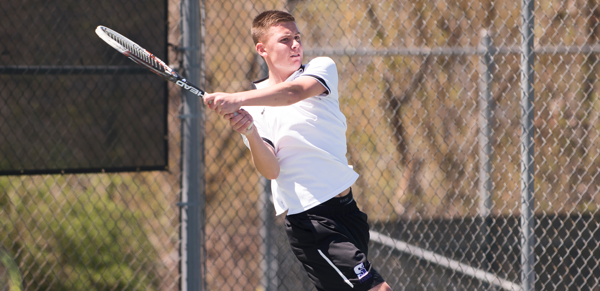 Junior Alexander Ochalski was named the Landmark Conference's Men's Tennis Athlete of the Week on Monday, marking the first time in his career that he has earned the award.