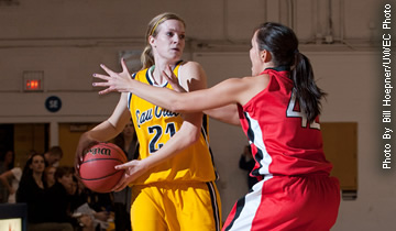 Women's Basketball Defeated by Pointers