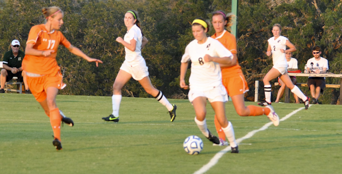 Women's soccer opens SCAC action with victory