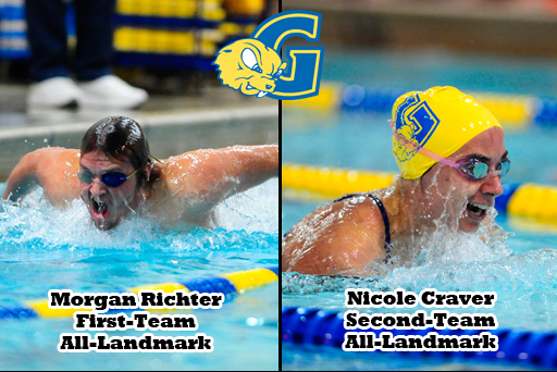 M. Richter, Craver Named to All-Landmark Team