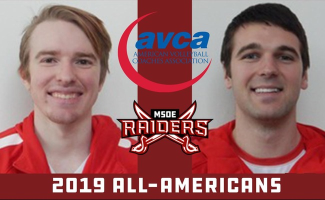 Martens and Krisik Named As AVCA All-Americans