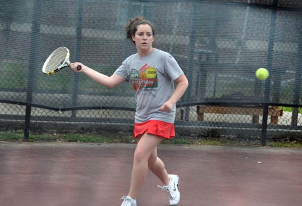 Women's Tennis: Panthers edge Greensboro for first win of season