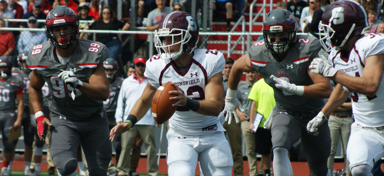 Football Rallies Past WPI, 17-14, In NEWMAC Opener