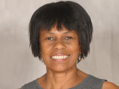 UDC Director of Athletics Patricia Thomas