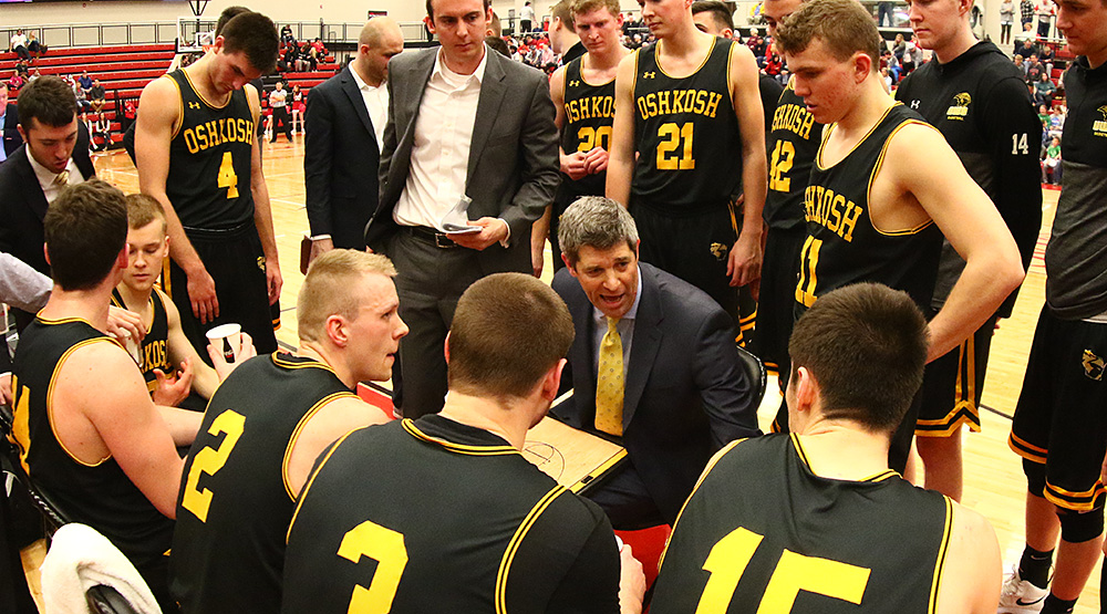 Pat Juckem with his UWO team