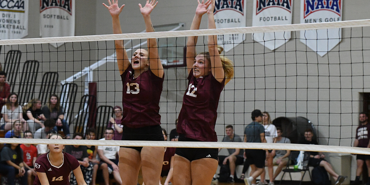 Crusaders Swept in Straight Sets by No.14 Central Methodist