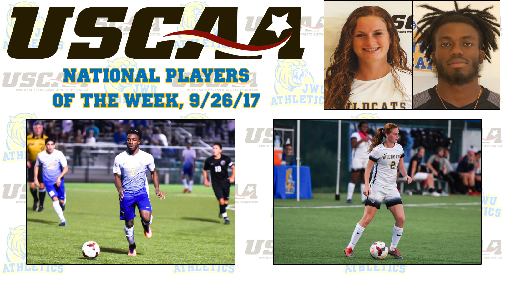 Jackson, Doyle Earn National Player of the Week Honors