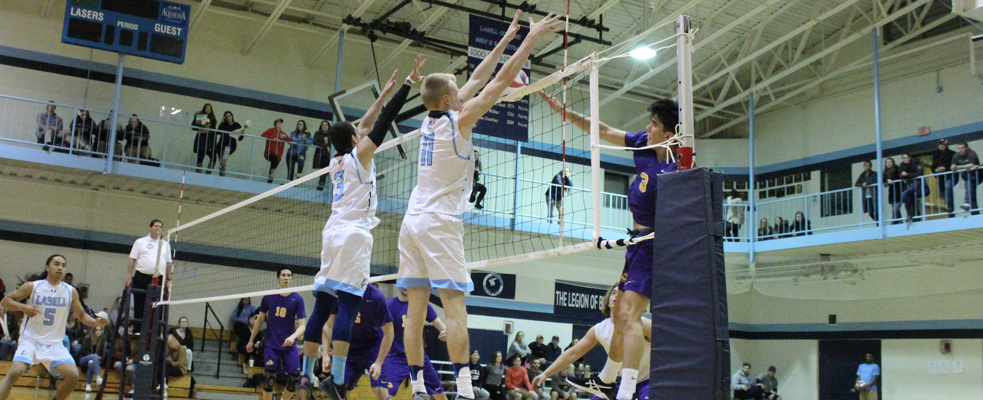No. 12 Lasers Down Emerson in Straight Sets