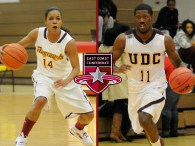 University of the District of Columbia's Lauren Brittingham Earns ECC Women's Basketball Player of the Week; Nigel Munson Makes ECC Men's Basketball Honor Roll