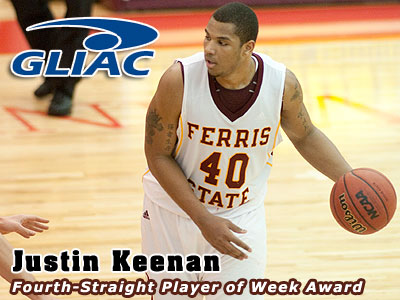 Four In A Row For FSU's Justin Keenan