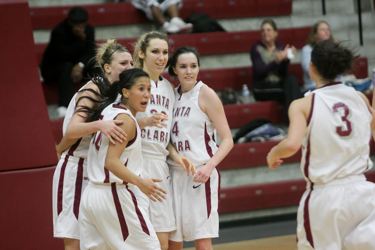 Santa Clara Women Play USF Saturday at 2 p.m. in War Memorial Gym