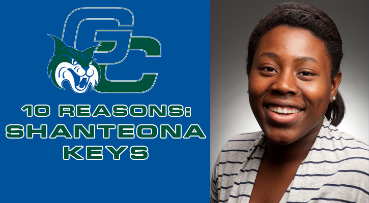 10 Reasons to Support the Georgia College Athletic Auction: Shanteona Keys