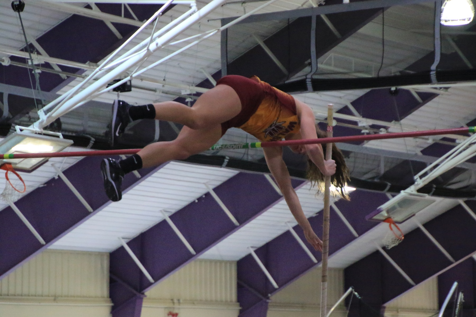 All-American Barber Wins Pole Vault At Mount Union