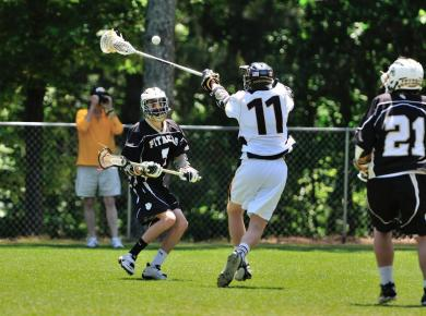 Men's Lacrosse Drops Second Straight SAA Game, Loses 17-3 to Sewanee