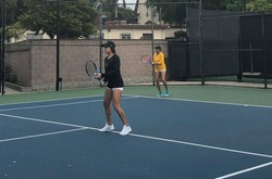 Women's Tennis Duo Advances to Day 2 at the Ojai