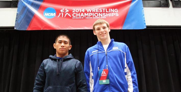 Ambrocio, Lubner named NWCA Scholar All-Americans