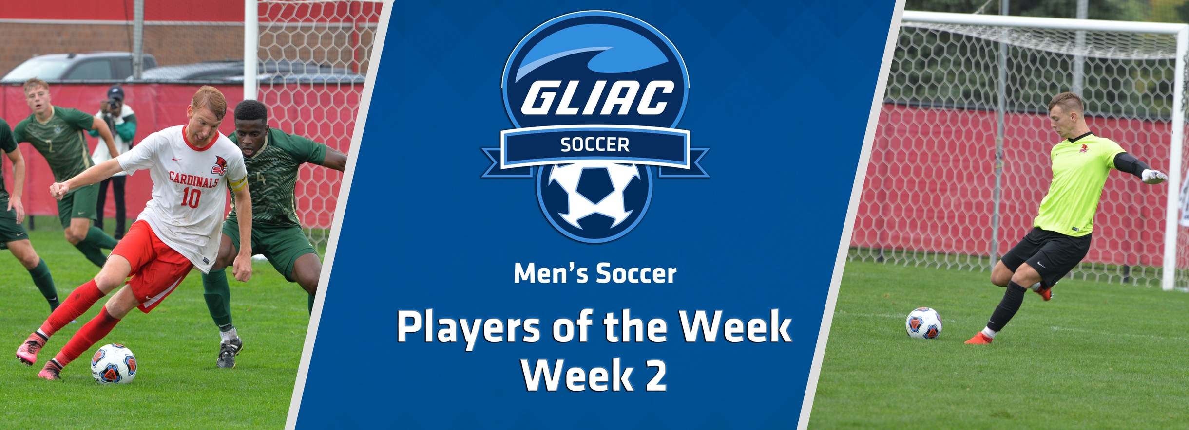 SVSU's Rutz and Maziasz Sweep GLIAC Men's Soccer Weekly Honors