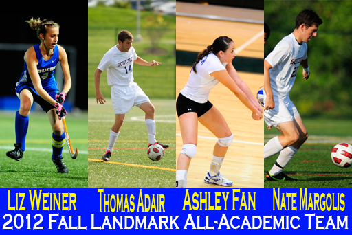 Landmark Reveals All-Academic Team for Fall 2012