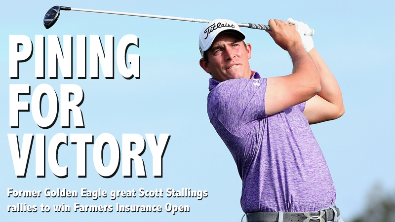 Stallings uses Sunday rally to win Farmers Insurance Open at Torrey Pines