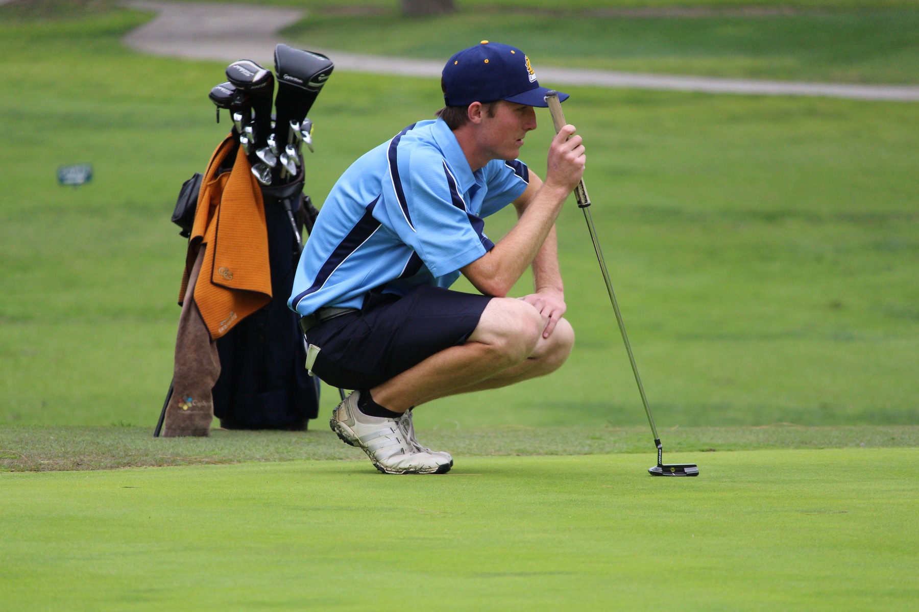 Men's Golf Sits Atop OEC Standings with Win at Candlewood