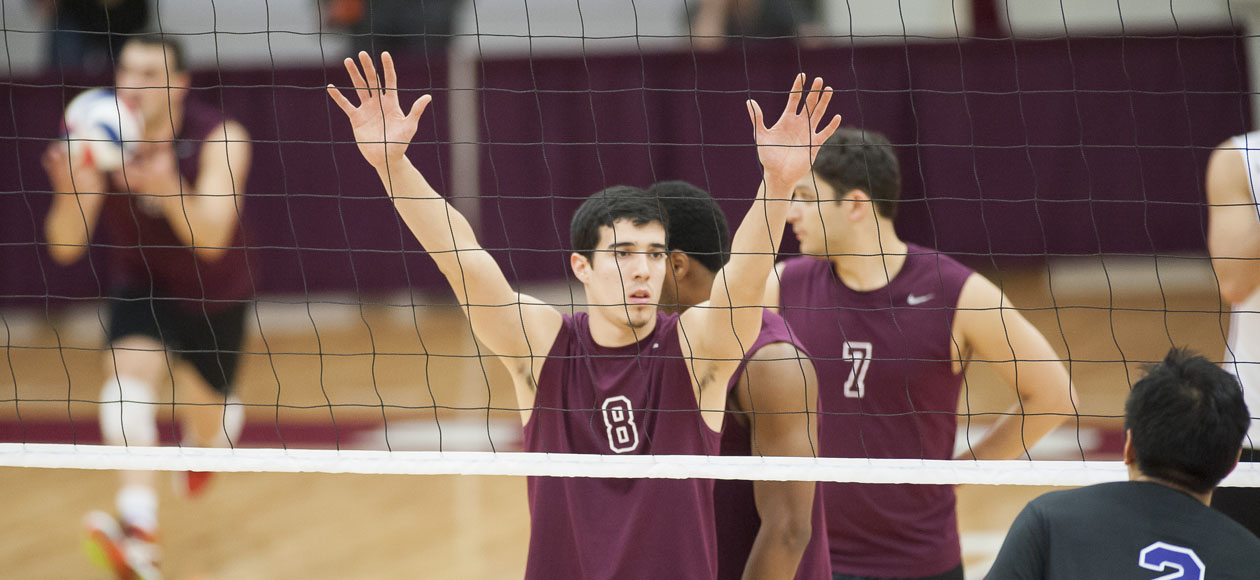 Top-Ranked Men's Volleyball Finishes Off Lasell In Four Sets
