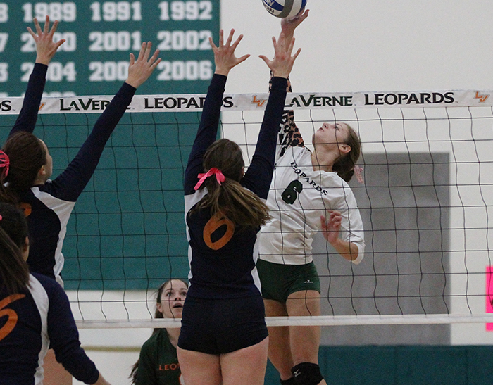 No. 23 Volleyball cruises past Caltech, Austin